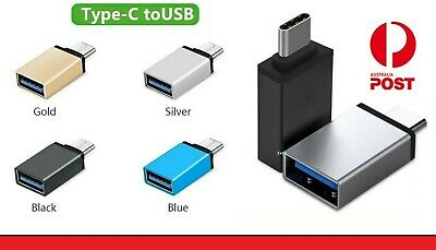 AU4.48 • Buy Premium USB-C Data OTG Adapter USB 3.1 Type C Male To USB 3.0 A Female Converter