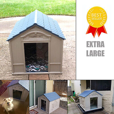 $125.23 • Buy Dog House For Extra Large Outdoor Indoor Breed Outside Weatherproof Durable Home