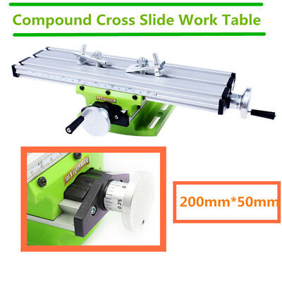 £21 • Buy Multifunction Working Vise Table Milling Machine Worktable Fit Bench Drill X Y