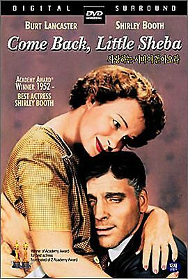 Come Back Little Sheba - Burt Lancaster, Daniel Brand New Sealed All Region DVD • 14.99£