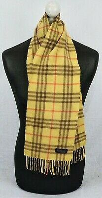£49.99 • Buy Burberry Scarf 100% Cashmere For Men And Women Made In England  #26