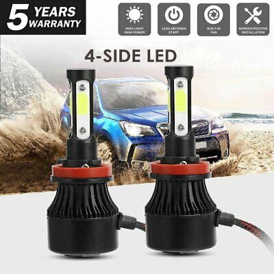 AU21.59 • Buy 2x H8/H9/H11 LED Headlight 200W Bulbs 6500K 20000LM 4-Sides High Low Beam Light