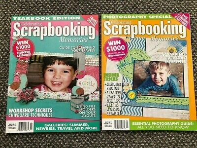 Celebrating Scrapbooking Memories Magazines - Craft Room Clear-out • 0.99£