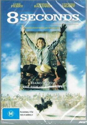 AU9.95 • Buy 8 Seconds DVD Luke Perry Brand New And Sealed Australian Release