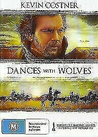AU9.95 • Buy Dances With Wolves DVD Kevin Costner New And Sealed Australian Release