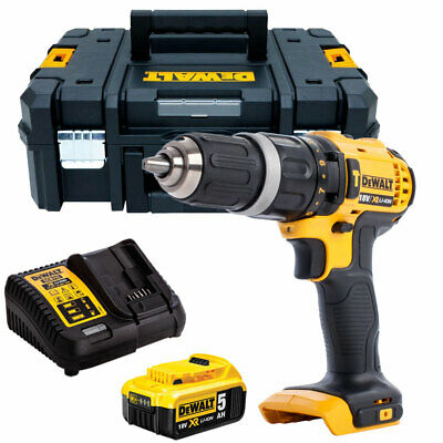 Dewalt DCD785N 18V 2-Speed Combi Drill With 1 X 5.0Ah Battery & Charger In TSTAK • 175£