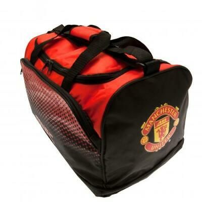 Manchester United FC / Man Utd Official Crested Holdall Bag Gym School Present • 19.95£