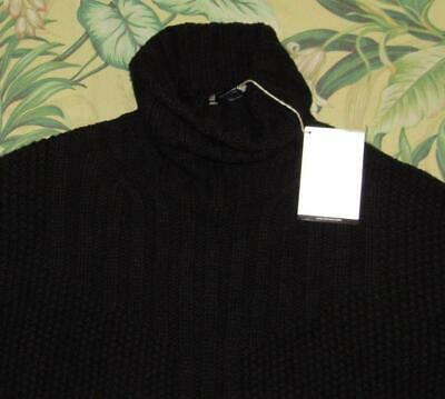 $68 • Buy Womens $160 SMARTWOOL Black Wool Blend Spruce Creek Sweater Small NWT