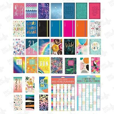 £3.49 • Buy 2021-2022 Academic Diary A5/A6 Week To View / Page A Day / Student Teacher Diary