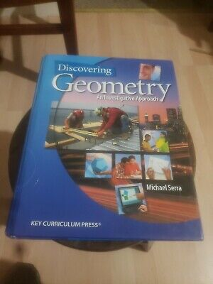 $9 • Buy Discovering Geometry : An Investigative Approach By Michael Serra 2008 HC F56