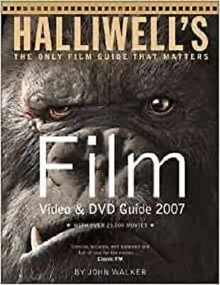 Halliwell's Film Video & DVD Guide 2007, Very Good, Paperback • 10.80£