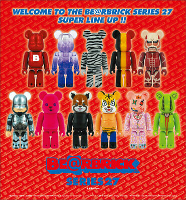$19.99 • Buy Bearbrick Be@rbrick Series 27 100% By Medicom - You Pick!