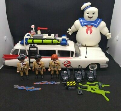 PLAYMOBIL 9220 Ghostbusters Ecto-1 Vehicle + Stay Puft • 39.95£