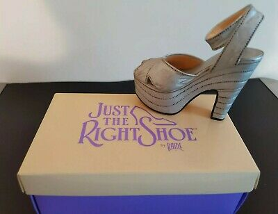 Just The Right Shoe By Raine - Silver Cloud Item No: 25007 Still Boxed  • 3.50£