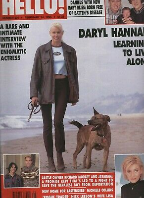 £8.99 • Buy Hello #395 Daryl Hannah Michelle Collins Catherine Walker James Cromwell