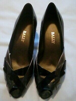 Bailey Shoes, Size 6, Black And Pewter • 2.99£