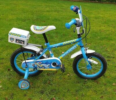 Halfords Apollo Police Patrol Bike With Police Helmet Included • 40£