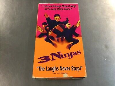 $ CDN13.29 • Buy 3 Ninjas (VHS) Great Condition. Free Fast Shipping!