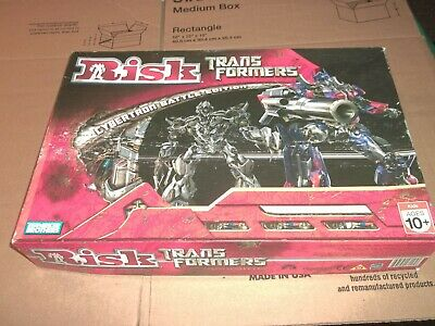 $14.99 • Buy RISK TRANSFORMERS - Cybertron Battle Edition ~ COMPLETE ~ Excellent Condition