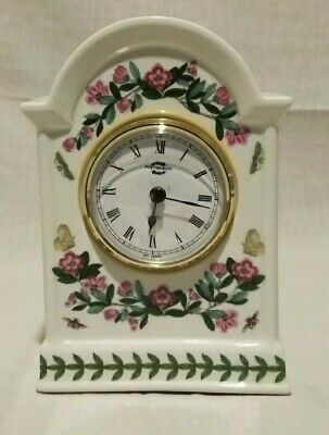 Portmeirion Botanic Garden Mantle Clock 6  Made In England New Battery • 30.89£