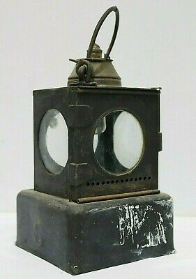 Antique Railway Guard Signal Lamp Lantern LNER Welsh Patent - 250  • 14.95£