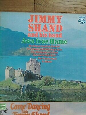 £5 • Buy Job Lot Of 4 X Jimmy Shand Vinyl Lps All Listed And Graded