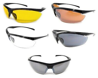 Military Specification Ballistic Clay Hunting Target Shooting Safety Glasses • 14.98£