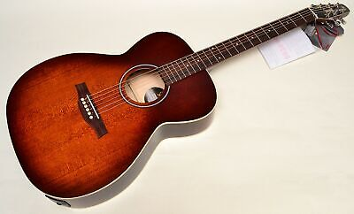 $579 • Buy Seagull S6 Original Slim Concert Hall GT A/E Burnt Umber Professionally Set Up!