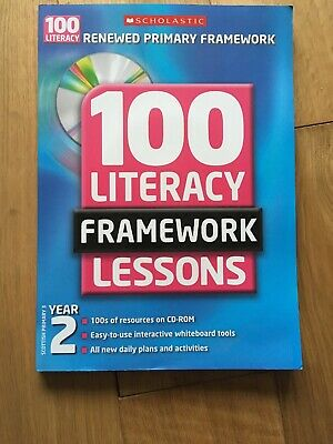 £2.50 • Buy 100 New Literacy Framework Lessons For Year 2 With CD-Rom By Eileen Jones (Mixed