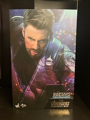 $ CDN275.72 • Buy  Hot Toys 1/6 Avengers: Infinity War MMS481 Captain America Movie Promo Version