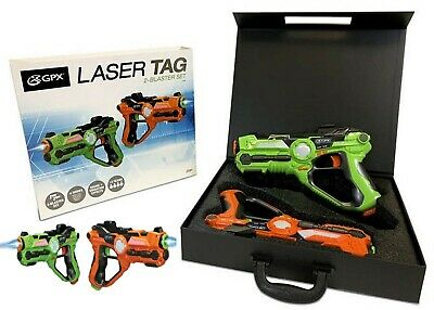 £79.74 • Buy GPX Laser Tag Blasters 2 Pack Ages 8+ Toy Play Fight Gun Gift Set Girls Boys Fun