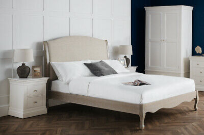 £549 • Buy Julia Upholstered French Style Bed