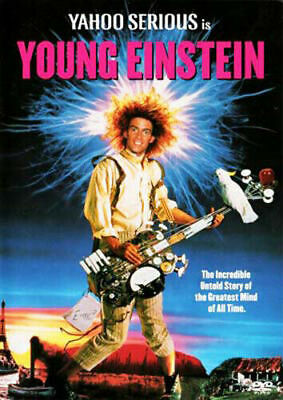 AU10.95 • Buy Young Einstein DVD 1988 Yahoo Serious Brand New Manufactured Australian Release