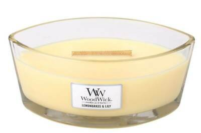 $26.54 • Buy LEMONGRASS LILY HearthWick Flame Large Scented Candle By WoodWick