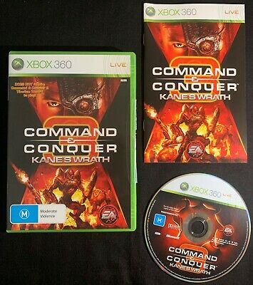 AU19.90 • Buy Command & Conquer 3 Kane's Wrath - Xbox 360 PAL Game Complete W/ Manual FREEPOST