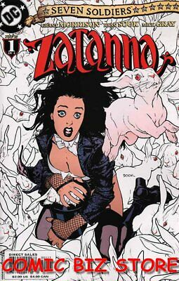 Seven Soldiers Zatanna #1 (2005) 1st Printing Bagged & Boarded Dc Comics • 3.99£