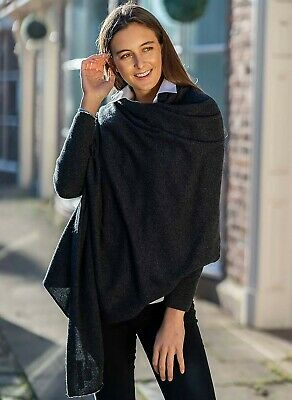 Pure Cashmere Extrawide Shawl/Wrap/Travelwrap - Made In Hawick, Scotland • 114.95£