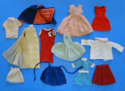 $ CDN10.57 • Buy Vintage Barbie/Skipper/Francie/Tammy/Tressy 1960's Clothes LOT - 12 Pc.