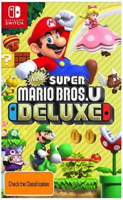 AU79.95 • Buy SWI New Super Mario Bros. U Deluxe Nintendo Switch Video Game