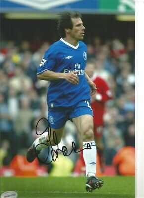 Gianfranco Zola Chelsea 10 X 8 Inch Hand Signed Authentic Football Photo SS074A • 20.99£