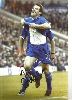Gianfranco Zola Chelsea 12 X 8 Inch Hand Signed Authentic Football Photo SS074G • 20.99£