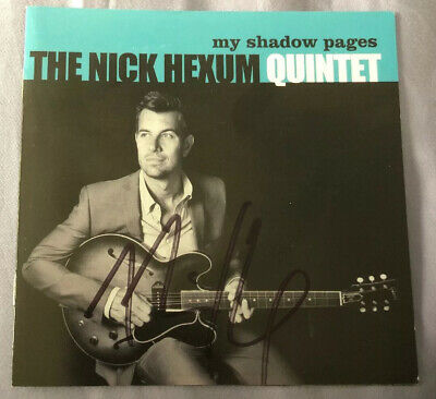 $ CDN23.82 • Buy NICK HEXUM 311 Band LEAD SINGER Autographed CD Booklet My Shadow Pages Unplayed