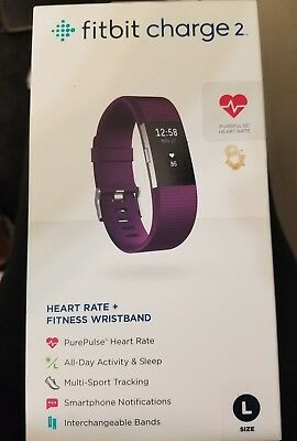 $ CDN160.01 • Buy Fitbit Charge 2 Purple Size Large