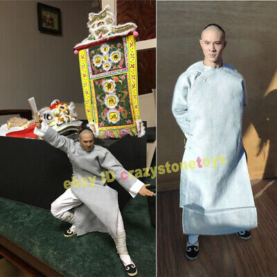 $592.19 • Buy 1/6 Enterbay REAL MASTERPIECE Once Upon A Tim Wong Fei-hung Jet Li Figure STOCK