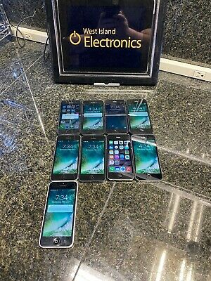 $ CDN459.99 • Buy Iphone 5 & 5s Lot Of 9-tested -free Ship