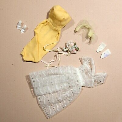 $ CDN39.63 • Buy Vintage Barbie Clothes # 987 Orange Blossom Outfit