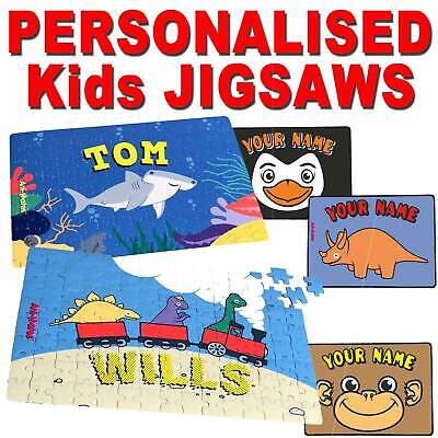 Personalised Jigsaw Puzzle Fun For Kids Children Gift 12 3080 120 Jigsaws Pieces • 4.50£