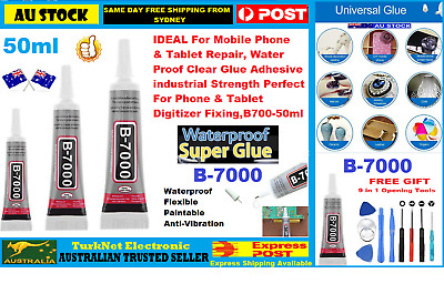AU14.95 • Buy B-7000 50ML Adhesive Permanent Glue For Phones For Tablet, Bumper/Jewelry/Shoes