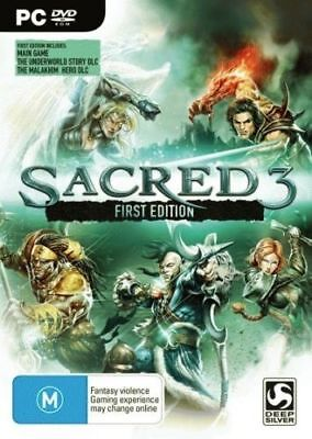 AU12.50 • Buy Sacred 3 First Edition  - PC Game - New Sealed In Stock