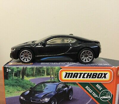 $6.99 • Buy Matchbox BMW I8 Black (box) POWER GRABS MBX Road Trip